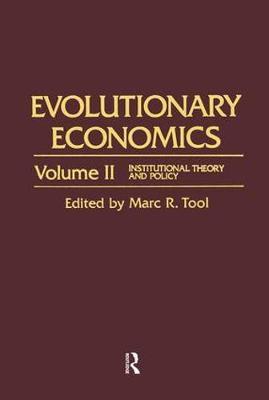 Evolutionary Economics (Hardback)