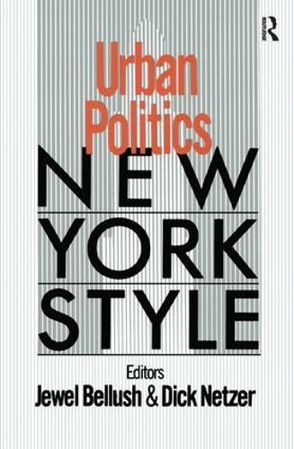 Urban Politics: New York Style: New York Style (Paperback)