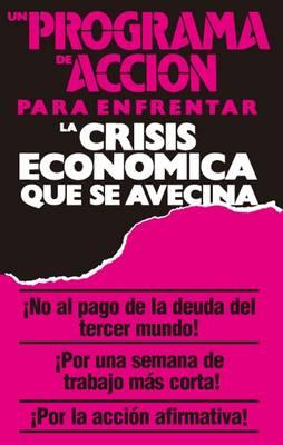 Un Programa de Accion para Enfrentar la Crisis Economica que Se Avecina (Paperback)