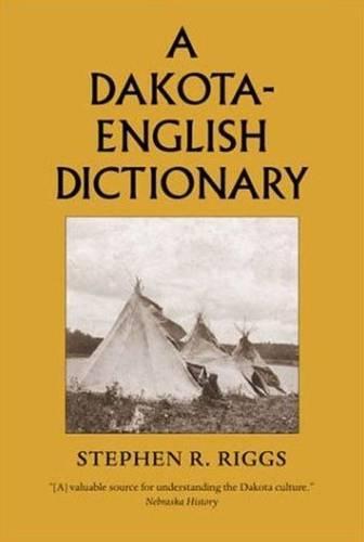 Dakota-English Dictionary - Borealis Book S. (Hardback)