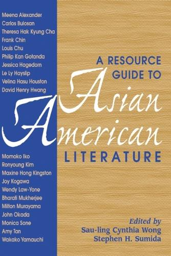 A Resource Guide to Asian American Literature (Hardback)