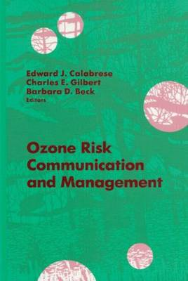 Ozone Risk Communication and Management (Hardback)