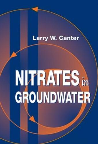 Nitrates in Groundwater (Hardback)