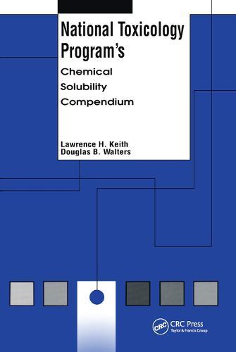 National Toxicology Program's Chemical Solubility Compendium (Hardback)
