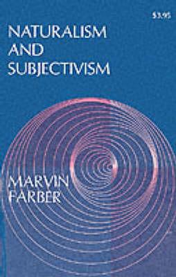 Naturalism and Subjectivism (Paperback)