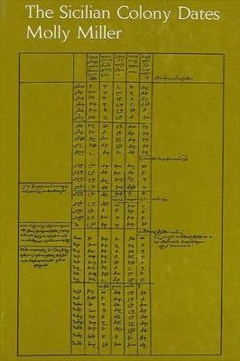 The Sicilian Colony Dates (Hardback)