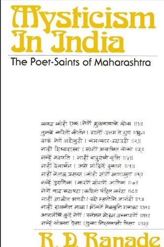 Mysticism in India: The Poet-Saints of Maharashtra (Paperback)