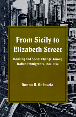 From Sicily to Elizabeth Street: Housing and Social Change among Italian Immigrants, 1880-1930 (Paperback)