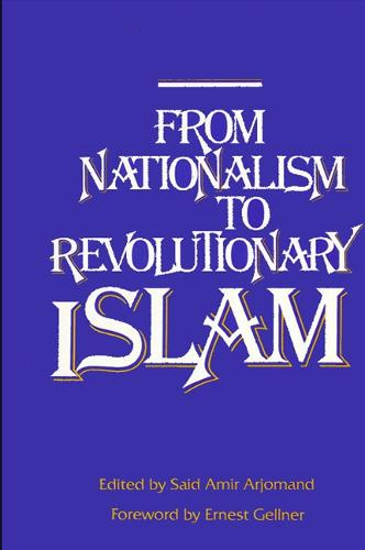 From Nationalism to Revolutionary Islam (Hardback)