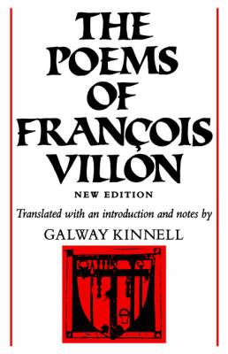 The Poems of Francois Villon (Paperback)