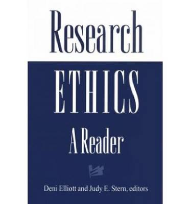 Research Ethics: A Reader (Paperback)