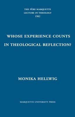 Whose Experience Counts in Theological Reflection? (Hardback)