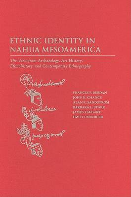 Ethnic Identity in Nahua Mesoamerica: The View from Archaeology, Art History, Ethnohistory, and Contemporary Ethnography (Hardback)