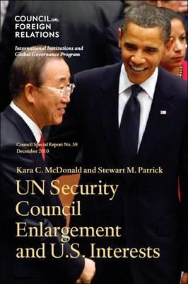 U.S. Interests and Un Security Council Reform (Paperback)