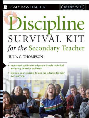 Discipline Survival Kit for the Secondary Teacher (Paperback)