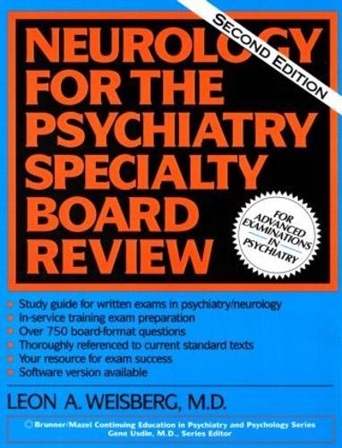 Neurology For The Psychiatry Specialist Board (Paperback)