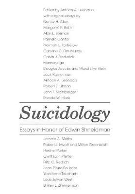 Suicidology (Hardback)
