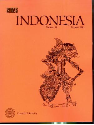 Indonesia Journal: October 2011 - Indonesia Journal (Paperback)