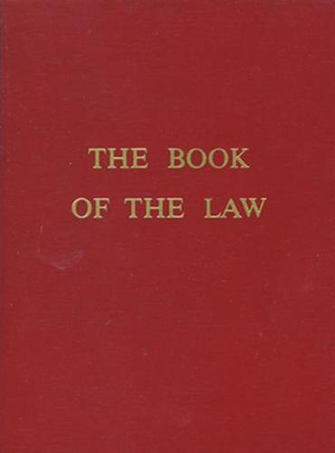 The Book of the Law (Paperback)