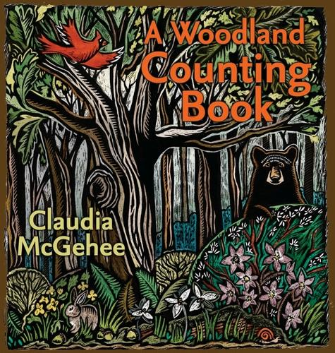 A Woodland Counting Book - Bur Oak Books (Hardback)