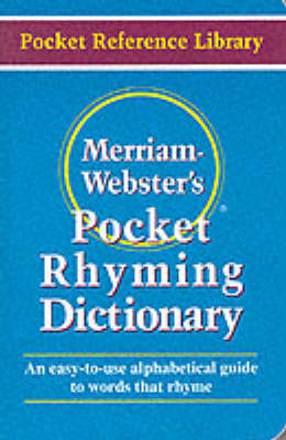 Pocket Rhyming Dictionary - Pocket reference library (Paperback)