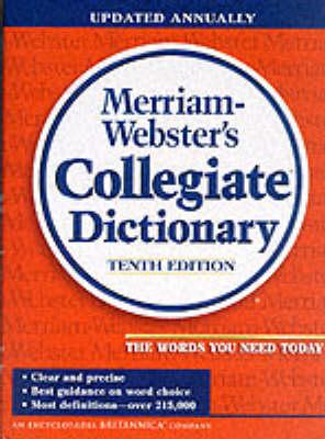 Merriam-Webster Collegiate Dictionary: Plain Edge (Hardback)