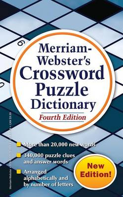 Merriam Webster's Crossword Puzzle Dictionary (Paperback)