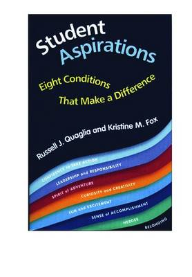 Student Aspirations: Eight Conditions That Make a Difference (Paperback)