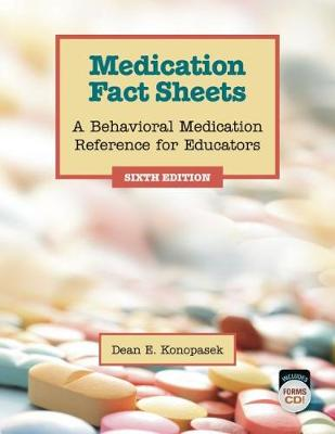 Medication Fact Sheets: A Behavioral Medication Reference for Educators (Paperback)