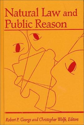 Natural Law and Public Reason (Hardback)