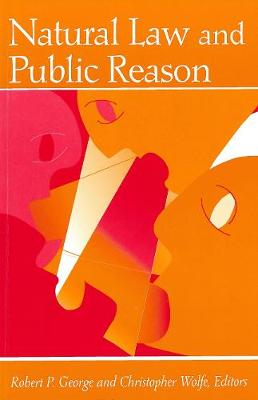 Natural Law and Public Reason (Paperback)