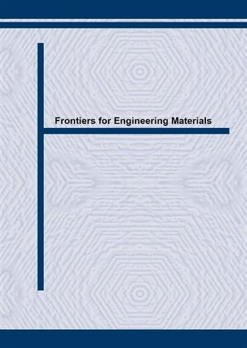 Frontiers for Engineering Materials: IMF-11 - Key Engineering Materials v. 118-119. (Paperback)