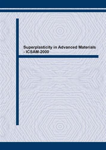 Superplasticity in Advanced Materials: ICSAM-2000 - Materials Science Forum v. 357-359 (Paperback)