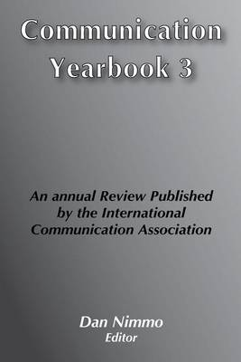 Communication Yearbook 3: 1979 (Hardback)