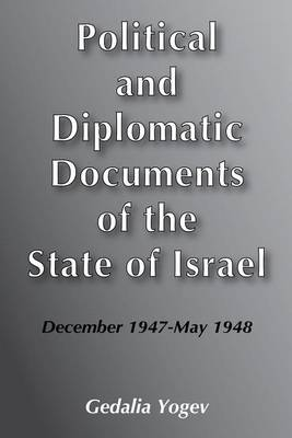Political and Diplomatic Documents of the State of Israel (Hardback)
