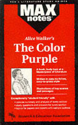 """Color Purple"" - MaxNotes (Paperback)"