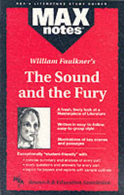 """Sound and the Fury"" - MaxNotes (Paperback)"