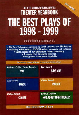 The Best Plays of 1998-1999 - Best Plays (Hardback)