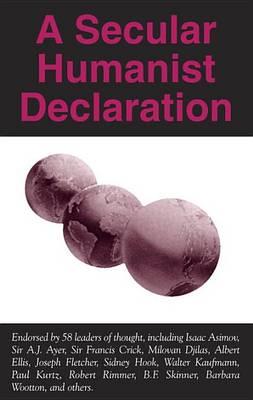 A Secular Humanist Declaration, A (Paperback)