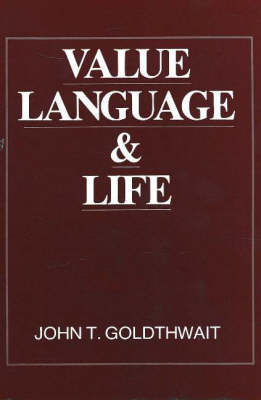 Value, Language And Life (Hardback)