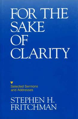 For The Sake Of Clarity (Hardback)