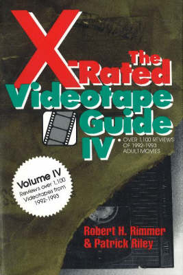 The X-Rated Videotape Guide, 1992-1993 (Paperback)