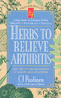 Herbs to Relieve Arthritis - Keats Good Herb Guides (Paperback)