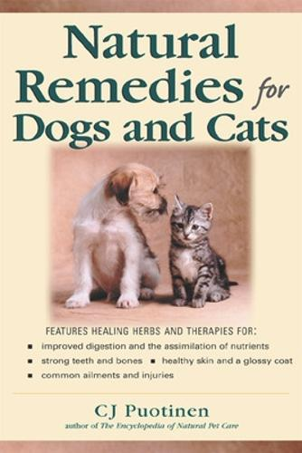 Natural Remedies For Dogs And Cats (Paperback)