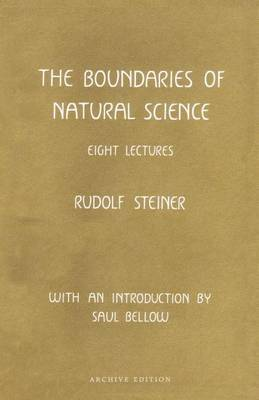 The Boundaries of Natural Science (Hardback)