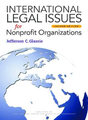 International Legal Issues for Nonprofit Organizations (Paperback)