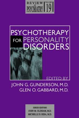 Psychotherapy for Personality Disorders (Paperback)