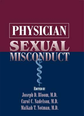 Physician Sexual Misconduct (Hardback)