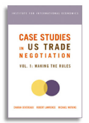 Case Studies in US Trade Negotiation - Resolving Disputes (Paperback)