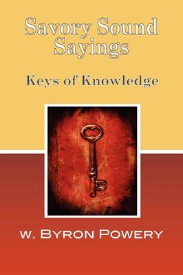 Savory Sound Sayings (Paperback)